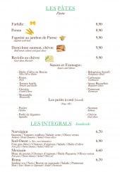 Menu L'intégral - Les pâtes et les intégrals