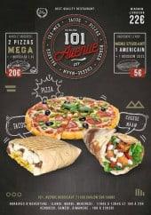 Menu Le 101 Avenue - carte et menu Pizzeria 101 Chalon