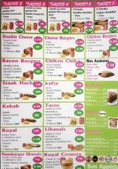 Menu Dolce pizz - Tacos, burgers, sandwiches,...