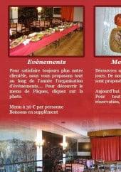 Menu Restaurant Girardot - Les prestations et menus