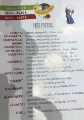 Menu Les Délices d'Italie - Pizzas