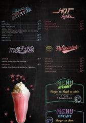 Menu Bil's - Les menus, les pâtisseries, les milkshakes...