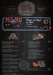 Menu Bil's - Le menu 8€,  les burgers, les bagels...