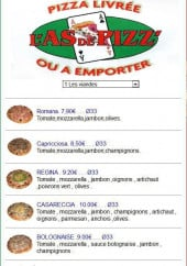 Menu L'As de Pizz - Les Viandes