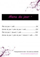 Menu Le For You - Les formules