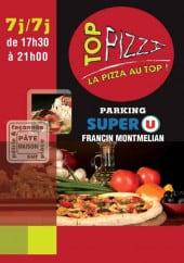 Menu Top Pizza - Carte et menu Top Pizza Francin