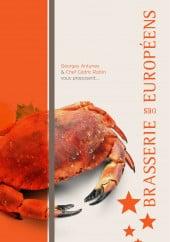 Menu Brasserie des Européens - Carte et menu Brasserie des Européens Annecy
