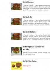 Menu L'Heure Tourne - Les hamburgers suite