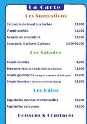 Menu Chez Mijo - Suggestions, salades, pâtes,...