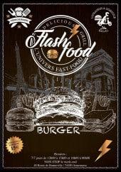 Menu Flash Food - Carte et menu Flash Food Annemasse