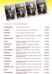 Menu Pizza San Marco - les pizzas