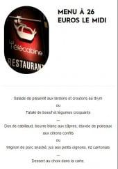 Menu La télécabine - Le menu à 26€ et le plat du jour