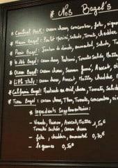 Menu Le 144 - Les bagels