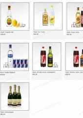 Menu Drinkin - Les cocktails