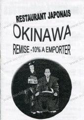 Menu Okinawa -
