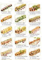 Menu C'Roll Sushi - Les rolls