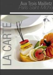 Menu Aux Trois Mailletz - Carte et menu Aux Trois Mailletz  Paris 5