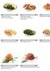 Menu Sumo - Les salades