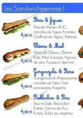 Menu La fromagette - Sandwich à la Carte