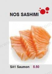 Menu Hokkaido - Les Sashimis