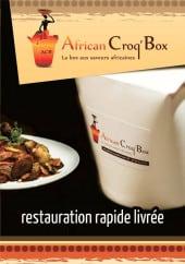 Menu African Croq'box - Carte et menu African Croq'box Paris 11