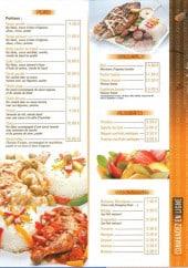Menu Afrik'N'Fusion - Les plats, grillades, desserts,...
