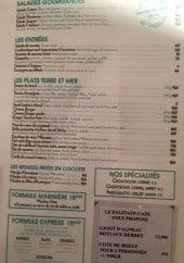Menu Falstaff - Les salades gourmandes, entrées, plats...
