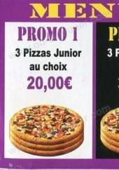 Menu Maestro Pizza - Les menus promotionnel midi et soir