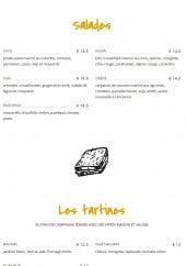 Menu Mon Coco - Les salades et tartines