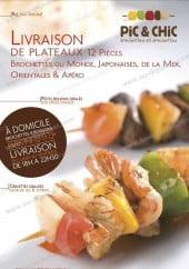 Menu Pic et Chic - Carte et menu de Pic et Chic à Paris 11