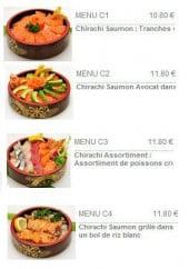 Les menus chirachi