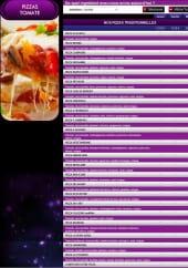 Menu Della Casa Pizza Nuit - Pizza Tomate