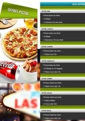 Menu Las Vegas Pizzeria - Les Pizzas