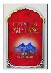 Menu Restaurant Mustang - Carte et menu Mustang Paris 14