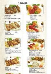 Menu Sushi Alesia - Les menus