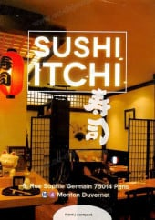 Menu Sushi Itchi - Carte et menu Sushi Itchi Paris 14