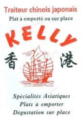 Menu Kelly - Carte et menu Kelly Paris 15