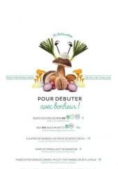 Menu Novotel - Les soupes, huîtres,...
