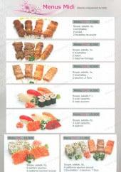 Menu Yuki - Les menus midi