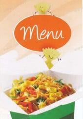 Menu Boom's Pasta - boom pasta paris menu et carte