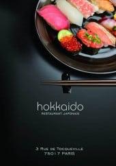 Menu Hokkaido III - Carte et menu Hokkaido III Paris 17