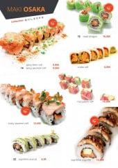 Menu Osaka Sushi - Maki