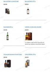 Menu Happy Drink - Les whiskys