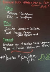Exemple de menu du jour