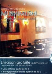 Menu MushiMushi - Carte et menu MushiMushi Paris 19