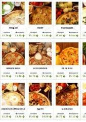 Menu Chez Pepe - les pizzas 2