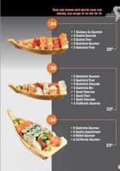 Menu Fujiya Sushi Rive Droite - Les menus shirashis