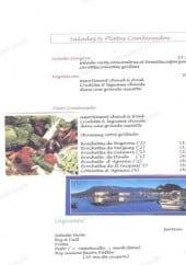 Menu La Sangria - Les salades et platos
