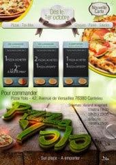 Menu Pizza Yolo - carte et menu  Pizza Yolo Canteleu