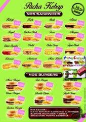 Menu Pacha kebab - Sandwiches, burgers, menu enfant
